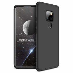 GKK 360 Protection Case Első és hátsó Full Body tok Huawei Mate Lite 30 fekete tok telefon tok hátlap