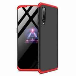 GKK 360 Protection Case Első és hátsó Full Body tok Xiaomi Mi CC9e / Xiaomi Mi A3 fekete-piros tok telefon tok hátlap