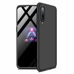 GKK 360 Protection Case Első és hátsó Full Body tok Xiaomi Mi CC9e / Xiaomi Mi A3 fekete telefon tok telefontok (hátlap)