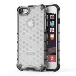 Honeycomb Case páncél fedél TPU Bumper iPhone 8 / átlátszó iPhone 7 tok telefon tok hátlap