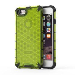 Honeycomb Case páncél fedél TPU Bumper iPhone 8/7 zöld iPhone tok telefon tok hátlap