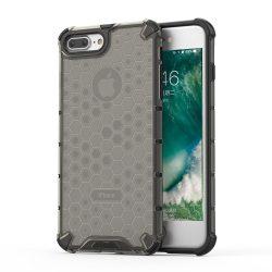 Honeycomb Case páncél fedél TPU Bumper iPhone Plus 8 / iPhone 7 Plus fekete tok telefon tok hátlap