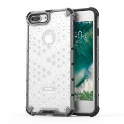 Honeycomb Case páncél fedél TPU Bumper iPhone Plus 8 / iPhone 7 Plus átlátszó tok telefon tok hátlap