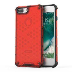 Honeycomb Case TPU Bumper iPhone Plus 8 / iPhone 7 Plus piros telefon tok telefontok