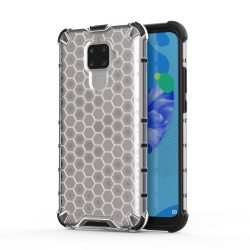 Honeycomb Case páncél fedél TPU Bumper Huawei Mate Lite 30 / Huawei Nova Pro 5i átlátszó tok telefon tok hátlap