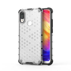 Honeycomb Case páncél fedél TPU Bumper Xiaomi Note 7 redmi átlátszó telefon tok telefontok