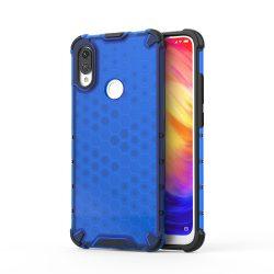 Honeycomb Case páncél fedél TPU Bumper Xiaomi redmi Blue Note 7 telefon tok telefontok