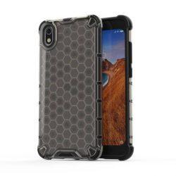 Honeycomb tok páncél telefontok TPU Bumper Xiaomi redmi 7A fekete telefontok tok