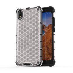 Honeycomb Case TPU Bumper Xiaomi redmi 7A átlátszó telefon tok telefontok