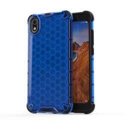 Honeycomb Case páncél fedél TPU Bumper Xiaomi redmi 7A kék tok telefon tok hátlap