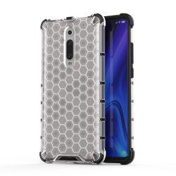 Honeycomb Case páncél fedél TPU Bumper Xiaomi Mi 9T / 9T Xiaomi Mi Pro átlátszó telefon tok telefontok