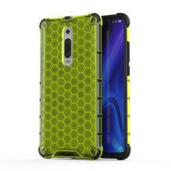 Honeycomb Case páncél fedél TPU Bumper Xiaomi Mi 9T / 9T Xiaomi Mi Pro Zöld telefon tok telefontok