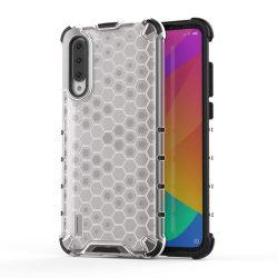 Honeycomb Case TPU Bumper Xiaomi Mi CC9e / Xiaomi Mi A3 átlátszó telefon tok telefontok (hátlap)