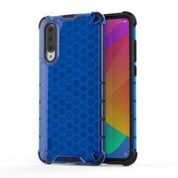 Honeycomb tok páncél telefontok TPU Bumper Xiaomi Mi CC9e / Xiaomi Mi A3 kék telefontok hátlap tok
