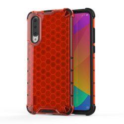 Honeycomb Case TPU Bumper Xiaomi Mi CC9e / Xiaomi Mi A3 piros telefon tok telefontok (hátlap)
