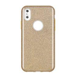 Wozinsky Shining Glitter tok Huawei Mate Lite arany 30 tok telefon tok hátlap
