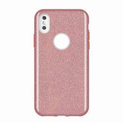 Wozinsky Shining Glitter tok Huawei Mate Pink Lite 30 tok telefon tok hátlap