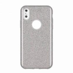 Wozinsky Shining Glitter tok Huawei Mate Lite 30 ezüst tok telefon tok hátlap