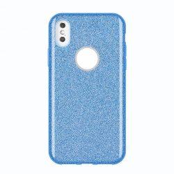Wozinsky Shining Glitter tok Huawei Mate Lite kék 30 tok telefon tok hátlap