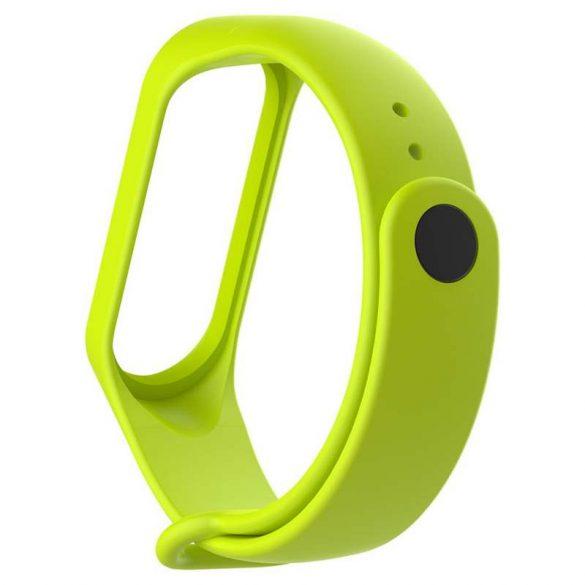 Csereszíj Xiaomi Mi Band 4 / Mi Band 3 zöld telefon tok telefontok