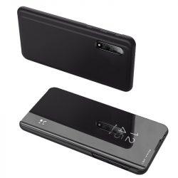 Clear View tok Xiaomi Mi CC9e / Xiaomi Mi A3 fekete telefon tok telefontok (hátlap)