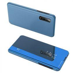 Clear View tok Xiaomi Mi CC9e / Xiaomi Mi A3 kék telefon tok telefontok (hátlap)