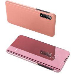 Clear View tok Xiaomi Mi CC9e / Xiaomi Mi A3 rózsaszín telefon tok telefontok (hátlap)