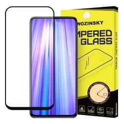 Wozinsky edzett üveg FullGlue Super Tough képernyővédő fólia Full Frame Coveraged barátságos tok Asus ZenFone 6 ZS630KL feketekijelzőfólia üvegfólia tempered glass