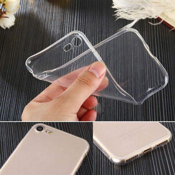 0,5 mm-es Ultra Clear TPU gél tok Samsung Galaxy M30s átlátszó telefon tok telefontok