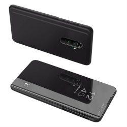 Clear View tok Xiaomi redmi Note 8 Pro fekete telefontok hátlap tok