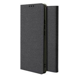 Fabric Flipes típusú Flip tok Xiaomi redmi Note 8 Pro Black tok telefon tok hátlap