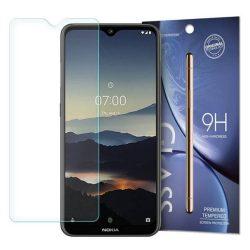 edzett üveg tempered glass tempered glass tempered glass 9H Képernyővédő fólia Nokia 7.2 / Nokia 6.2 (csomagolás - boríték)