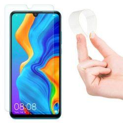 Wozinsky Nano Flexi Glass hibrid Screen Protector edzett üveg tempered glass tempered glass tempered glass Huawei P30 Lite