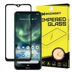 Wozinsky edzett üveg tempered glass tempered glass tempered glass FullGlue Super Tough képernyővédő fólia teljes képernyős kerettel tok barát Nokia 7.2 / 6.2 Nokia fekete telefontok tok