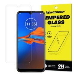 edzett üveg tempered glass tempered glass tempered glass 9H képernyővédő fólia Motorola Moto E6 Plus (csomagolás - boríték)