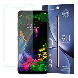 edzett üveg tempered glass tempered glass tempered glass 9H képernyővédő fólia LG G8s ThinQ (csomagolás - boríték)