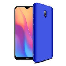 GKK 360 Protection tok Első és hátsó tok az egész testet fedő Xiaomi redmi 8A kék telefontok hátlap tok