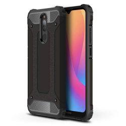 Hibrid Armor tok Kemény telefontok Xiaomi redmi 8 fekete telefontok tok