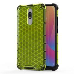Honeycomb tok páncél telefontok TPU Bumper Xiaomi redmi 8A / Xiaomi redmi 8 zöld telefontok hátlap tok