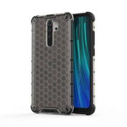 Honeycomb tok páncél telefontok TPU Bumper Xiaomi redmi Note 8 Pro fekete telefontok hátlap tok