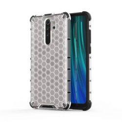 Honeycomb tok páncél telefontok TPU Bumper Xiaomi redmi Note 8 Pro átlátszó telefontok hátlap tok