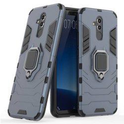 Ring Armor tok kitámasztható Kemény tok Huawei Mate 20 Lite blue telefontok hátlap tok