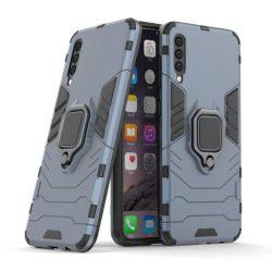 Ring Armor tok kitámasztható Kemény tok Samsung Galaxy A50 kék telefontok tok