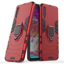 Ring Armor tok kitámasztható Kemény tok Samsung Galaxy A70 piros telefontok hátlap tok