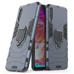Ring Armor tok kitámasztható Kemény telefontok Xiaomi Mi CC9e / Xiaomi Mi A3 kék telefontok hátlap tok