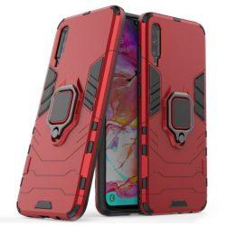 Ring Armor tok kitámasztható Kemény telefontok Xiaomi Mi CC9e / Xiaomi Mi A3 piros telefontok hátlap tok