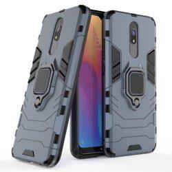 Ring Armor tok kitámasztható Kemény telefontok Xiaomi redmi 8A / Xiaomi redmi 8 kék telefontok hátlap tok