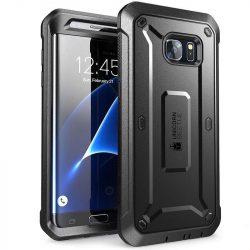 SUPCASE UNICORN BEETLE PRO GALAXY S7 EDGE BLACK tok telefon tok hátlap