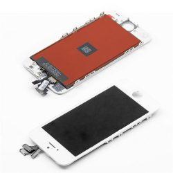 LCD + Érintőpanel teljes iPhone 5 fehér [TIANMA] A1428 A1429