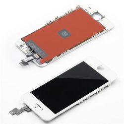 LCD + Érintőpanel teljes IPHONE 5S fehér [TIANMA] A1533 A1453 A1457 A1530